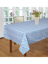 Smart Home 100% Cotton Self Design 6 Seater Table ...