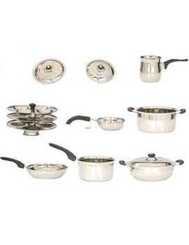 Brilliant 9 Pcs Induction Base Cookware Set