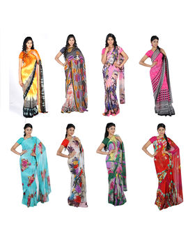 Google 8 Saree Collections