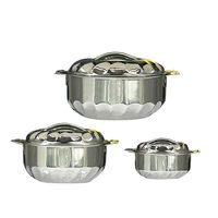 Brilliant 3 Pcs SS Casserole Set