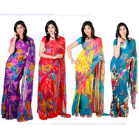 Hashika 4 Sarees Collection