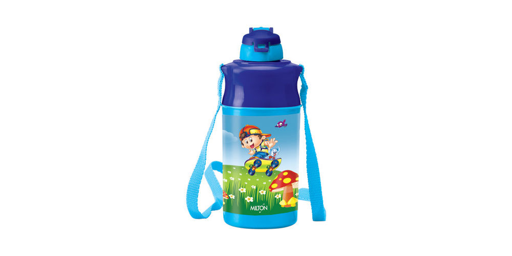 Milton Kool Spark Water Bottle, 500 ml, blue, plastic
