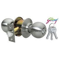 Godrej Stainless Steel Cylinderical Lock Keyless
