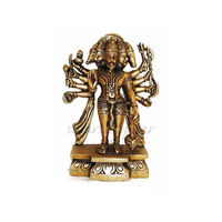 Lord Hanumanji In Five Face, brass
