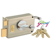 Godrej Ultra Twin Bolt 1CK Inside Opening Satin Nickel