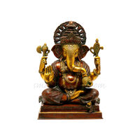 Lord Ganesha The Benevolent God, brass