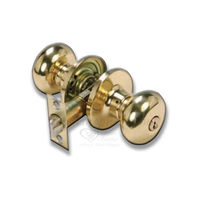 Latch Lock Plain, gold silver, stainless steel, heavy