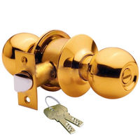 Godrej Brass Advanta Duo Door Knob Lock