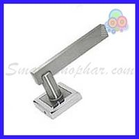 MORTISE ROSE HANDLE - JAGER, 2-2.5 inches, gold silver, zinc