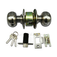 Door Latch Lock, gold, stainless steel, heavy