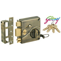 Godrej Ultra Tribolt 1CK Antique Brass Inside Opening