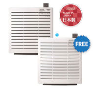 Hitachi 22M2 Air Purifier, EPA3000(Made in Japan) , Buy 1 Get 1 Free,  White