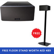 SONOS Play: 3 Black+ Floor Stand Black, Bundle Offer! !,