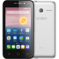 "ALCATEL PIXI 4 4/ DUAL SIM/Android 6.0 /4.0"" Screen/Quad Core 1.3 Ghz/8GB+ 1GB RAM/5MP+ 2MP Camera/ 1500mAh,  Silver"