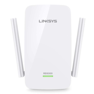 Linksys WiFi Range Extender RE6300 DB AC750,  White