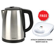 Hitachi Kettle 1.7 Ltr, HEKE60, 2200 Watts