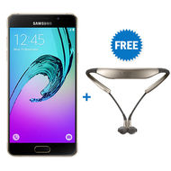 Samsung Galaxy A3 2016 LTE with Level U Headset Bundle Offer,  Gold