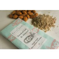 Earth Loaf Smoked Salt & Almond Chocolate Bar 72Gms (Pack of Two)