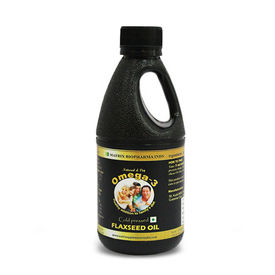 Cold Pressed Flax Seed Oil 250mL