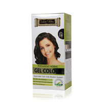 Indus Valley Permanent Herbal Colour- Dark Brown Kit - 180gm