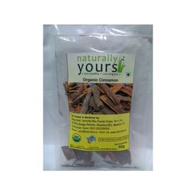 Naturally Yours Cinnamon Stick 50 Gms
