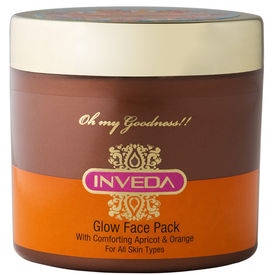 Inveda Glow Face Pack with Apricot & Orange 100mL