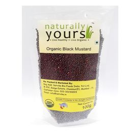 Naturally Yours Black Mustard 100G