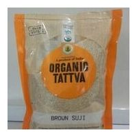 Organic Tattva Organic Brown Suji 500 gm