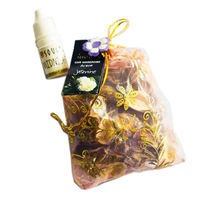 Soulflower Aroma Pouch Jasmine (With Bottle) - 50 gms
