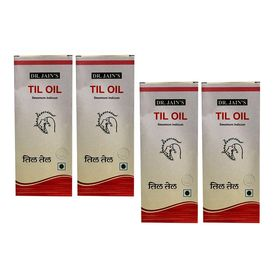 Dr. Jain s Til Oil - 100 ML Set of 4