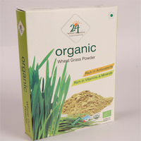24 Letter Mantra - Organic Wheat Grass Powder (100 gms)