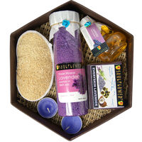 Soulflower - Hexagon Bath Set (Lavender)