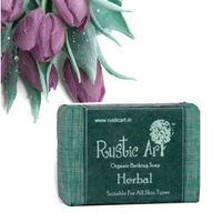 Rustic Art - Organic Herbal Soap - 100 gms