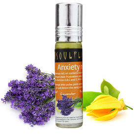 Soulflower Aromatherapy Anxiety Relief Roll On - 8 ml