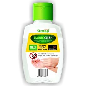 Herbal Strategi Nature Clean: Herbal Hand Sanitizer 50 mL