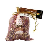 Soulflower Aroma Pouch Sandalwood (With Bottle) 50 Gm