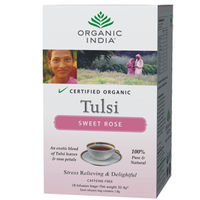 Organic India - Tulsi Sweet Rose Tea (18 Infusion Bags)