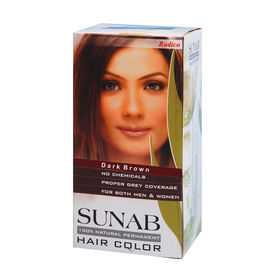 Radico Sunab Herbal Dark Brown Hair Color - 60gm
