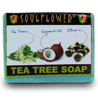 Soulflower Tea Tree Soap - 150 gms