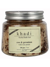 Khadi Rose Geranium With Rose Petals - 200 Gms