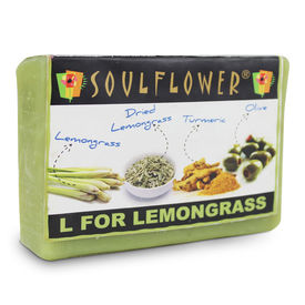 Soulflower L For Lemongrass Soap - 150 gms