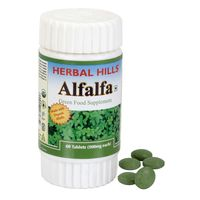 Herbal Hills Alfalfa Veg 60 Tablets