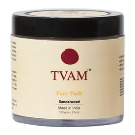 Tvam Face Pack - Sandalwood, 100 gms