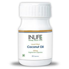InLife Coconut Oil 60 Vegetarian Capsules