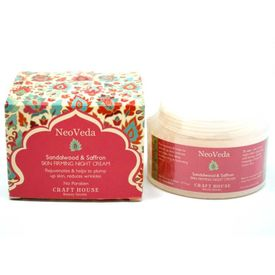 Craft House Sandalwood & Saffron Skin Firming (Night Cream) 50mL