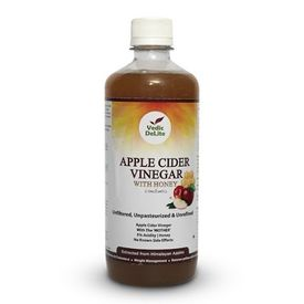 Vedic Delite Apple Cider Vinegar with Natural Honey 500 ML