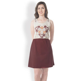 DUSG - Its Fleur & Birds - Women Dress, s