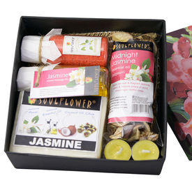 Soulflower Exotic Jasmine Hamper Set - 530 gms