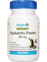 HealthVit KAPIKAVIT Kapikachu Powder 250 Mg 60 Capsules (Pack Of 2)