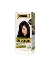 Indus Valley Permanent Herbal Colour- Black Kit - 180 Gm